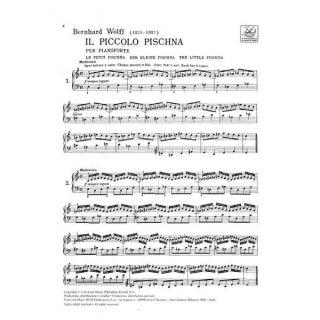 1-RICORDI Pischna / Wolff -