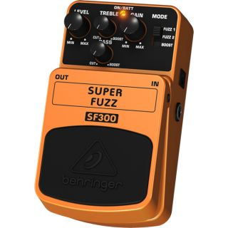 1-BEHRINGER SF300 SUPER FUZ