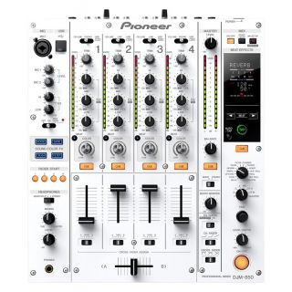 1-PIONEER DJM850W White - M