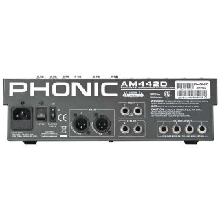 1-PHONIC AM442D - MIXER PAS