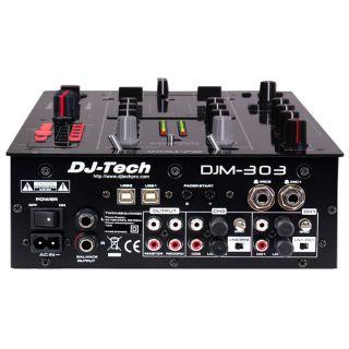 1-DJ TECH DJM303USB - MIXER