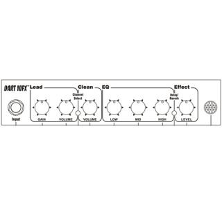 1-KUSTOM- DART 10FX- AMPLIF