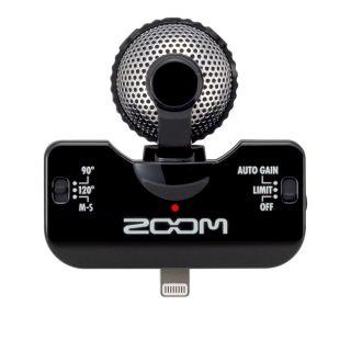 1-ZOOM iQ5/B Black  microfo
