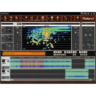 1-ROLAND R-MIX - SOFTWARE M