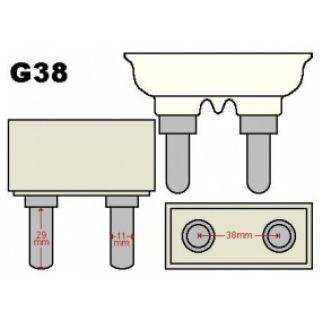 1-PROEL 2000W G 38 - Lampad