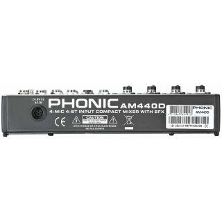 1-PHONIC AM440D  + MICROFON