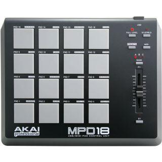 1-AKAI MPD18 - MIDI CONTROL