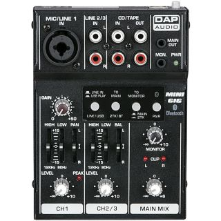 1-DAP AUDIO MINI-GIG - MIXE