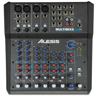 1-ALESIS MULTIMIX 8USB FX -