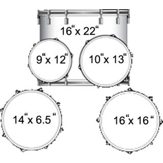 1-LUDWIG LC1759 ACCENT CS C