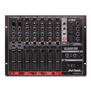 1-DJ TECH DX3000USB - MIXER