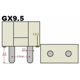 1-PROEL 1000W T19 GX 9.5 -