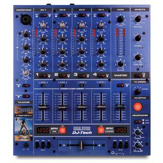 1-DJ TECH DDM3000 BLU MIXER