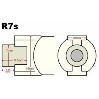 1-PROEL Lineare 1000W R7S 1