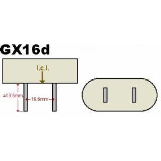 1-PROEL PAR64 1000W GX 16D