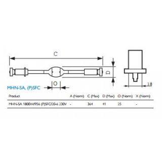1-PROEL MHD 1800W PSFg20+S