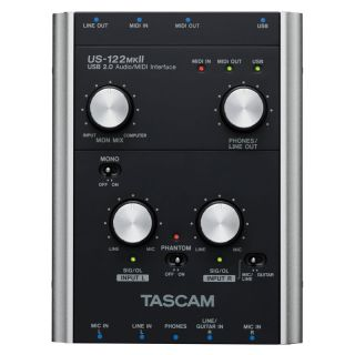 1-TASCAM US122 MKII - INTER