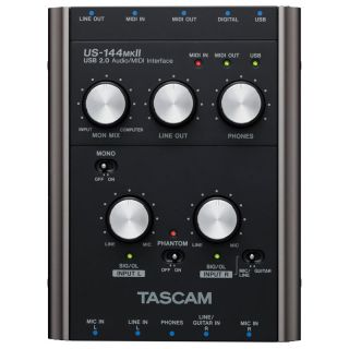1-TASCAM US144 MKII  - INTE