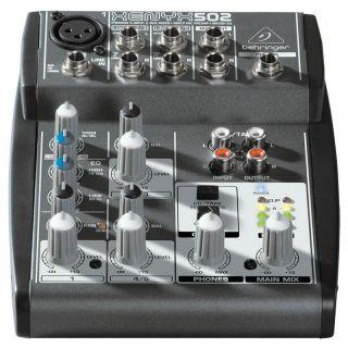1-BEHRINGER XENYX 502 - MIX