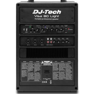 1-DJ TECH VISA 80 LIGHT + T