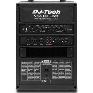1-DJ TECH VISA 80 LIGHT + T