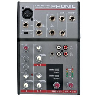 1-PHONIC AM120 MKIII + Micr