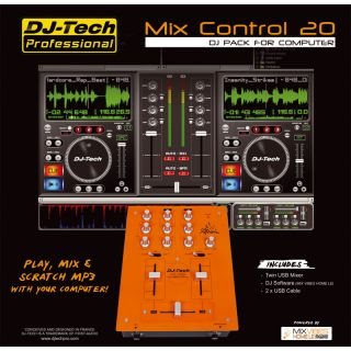 1-DJ TECH MIX CONTROL 20 -
