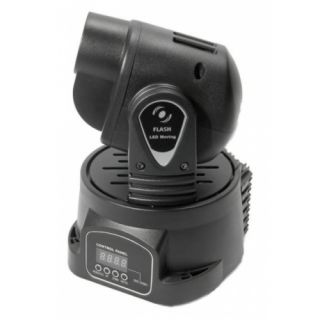 1-FLASH MOVING HEAD LED 15W