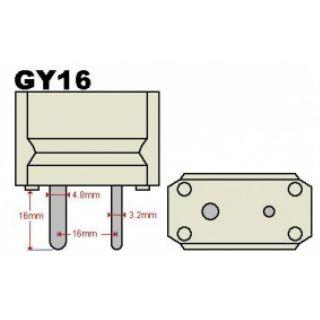 1-PROEL 2000W GY 16 - Lampa