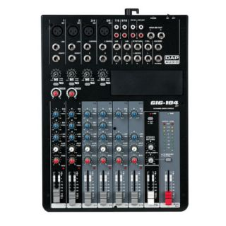 1-DAP AUDIO GIG-104C - MIXE