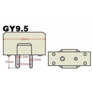 1-PROEL 650W T27 GY 9.5 - L