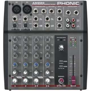 1-PHONIC AM220  + MICROFONO