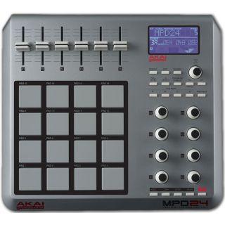 1-AKAI MPD24 - MIDI CONTROL