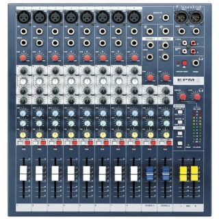 1-SOUNDCRAFT EPM8 - MIXER 8