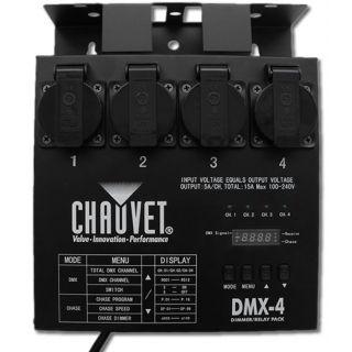 1-CHAUVET DMX 4SH - Dimmer/