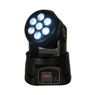 1-FLASH LED 2 MOVING HEAD 7