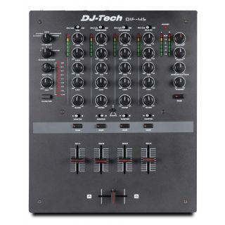 1-DJ TECH DIF-4S - MIXER 4