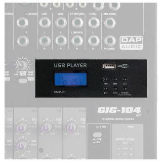 1-DAP AUDIO MP3 USB RECORD