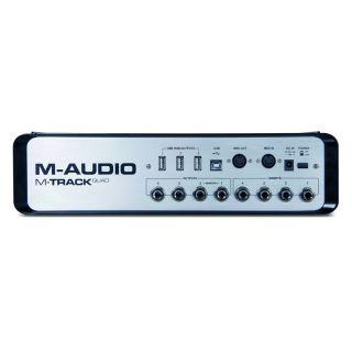 1-M-AUDIO M-Track Quad - Sc