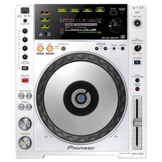 1-PIONEER CDJ850W White - L