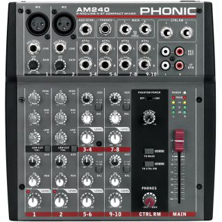 1-PHONIC AM240 - MIXER 6 CA