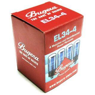 1-BUGERA EL34-4 - SET DI VO