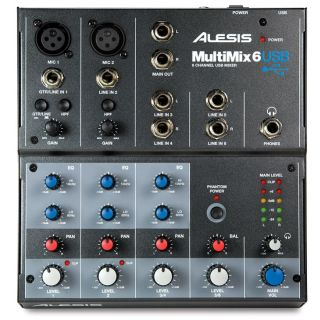 1-ALESIS MULTIMIX 6USB - MI