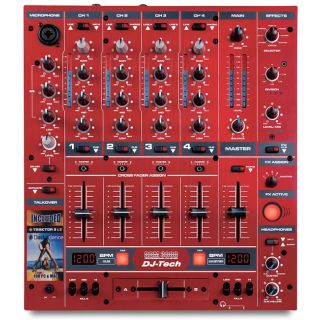 1-DJ TECH DDM3000 RED - MIX