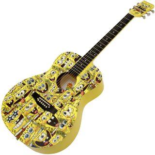 1-SpongeBob KIT Chitarra Ac
