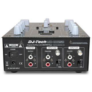 1-DJ TECH MX10 USB - MIXER