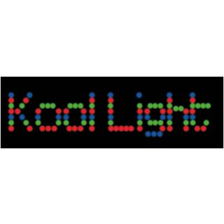 1-KOOL LIGHT LED TEXT - EFF