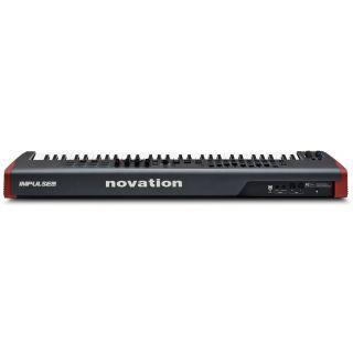 NOVATION IMPULSE 61 Tastiera Controller Midi/USB 61 Tasti_side
