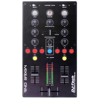 1-DJ TECH MIXER ONE - CONTR