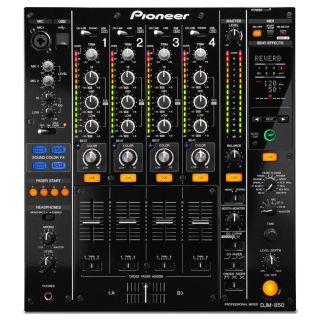 1-PIONEER DJM850K Black